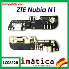 Flex Load For ZTE Nubia N1 Plate Micro USB Microphone Connector Piece Blade