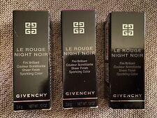 Givenchy Lipstick Night in Gold, Night in Plum, Night in Light