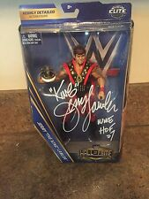 WWE Mattel HOF Elite Jerry The King Lawler Exclusive Figure Autographed Signed