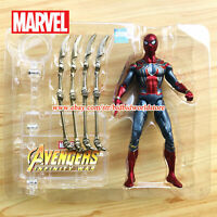 Marvel Spider-man Avengers Legends Comic Heroes 7in Action Figure Boy kids Toys