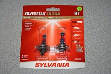 Sylvania Silverstar ULTRA H7 Pair Set High Performance Headlight 2 Bulbs NEW