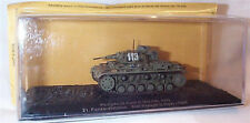 Pz. Kpfw .111 Ausf. G TANK 21st DIVISIONE PANZER 1941 SCALA 1-72 Nuovo sigillato in caso