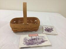 1996 Longaberger Horizon of Hope basket with recipe set