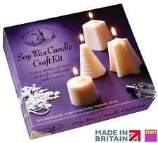 Candle Making Kit Make Your Own Soy Wax Natural Vanilla Scent Candles Craft Gift