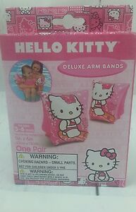 Hello Kitty Deluxe Arm Bands Licenced