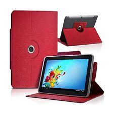 """Housse Etui Universel S couleur Rouge pour Tablette Polaroid Rainbow+ 7"""""""