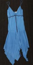 Kookai Blue summer cotton dress Size 2 (a1)