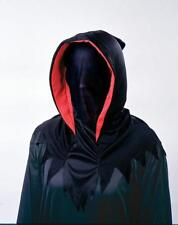 INVISIBLE MASK HOOD RED BLACK COSTUME NEW FW9214