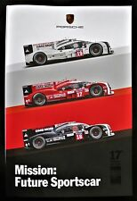 """NEW: PORSCHE LE MANS VICTORY 17th OVERALL WIN with 919  """"for an eternity"""" rare"""