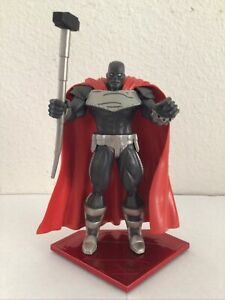 """DC DIRECT THE RETURN OF SUPERMAN STEEL ACTION FIGURE & BASE 7"""" Inch"""