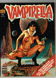 VAMPIRELLA #85 WARREN 1980 VF/NM HORROR COMIC MAG AURALEON NINO ZAMORA MONSTERS