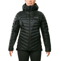 Berghaus Womens Extrem Micro 2.0 Down Insulated Jacket Top Black Sports Outdoors