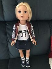 Journey Girl Doll Meredith - 2016 (New York) with Original Outfit, Socks & Shoes