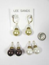 Lee Sands 14mm Interchangeable South Sea's Inspired Earrings