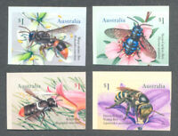Australia-Bees-Insects- Self-adhesive set  mnh 2019