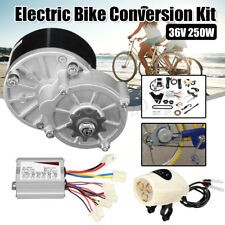 "36V 250W Electric Bike Conversion Motor Controller Kit For 22-28"" Common Bicycle"