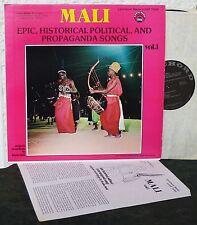 MALI Epic Historical Political Propaganda Songs LP Vol 1 Radio Mali 1960 - 1964
