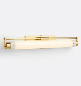 "West Slope 3000K 27-3/4"" LED Sconce Aged Brass Retail $595."
