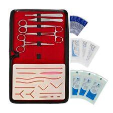 10 Pcs Box Complete Suture Practice Kits Training Silicon Pad