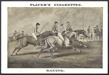 Players-Old Sporting Prints-#20- Horse Racing I
