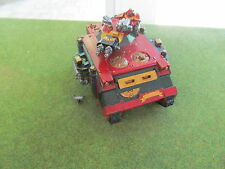 Warhammer 40K painted Blood Angel Space Marine Baal Predator w/ oop metal bits a
