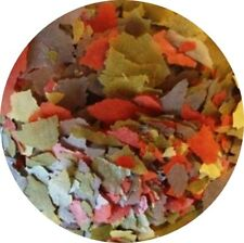 Flockenfutter Hauptflocken Flocken 4 farbig Fischfutter Zierfischflocken 10 l