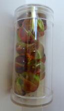 Gutermann Multicolour Glass Nugget Beads 15mm or 12mm- Various Colours and Sizes