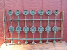 Antique Cast Iron Flowers Balls Ornate Window Gate Architectural Hardware #2