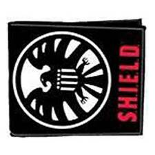 MARVEL Avengers Film Official Agents of SHIELD Eagle Logo WALLET Agent Nick Fury