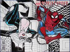 SCARLET SPIDER #1~ORIGINAL COVER ART~SPIDER-MAN~MARVEL COMICS~MAX GOTTFRIED~NM