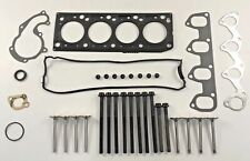 FOR FORD GALAXY MONDEO 1.8 TDCi HEAD GASKET SET HEAD BOLT INLET & EXHAUST VALVES