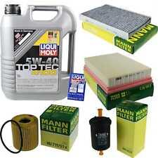 Inspection Kit Filter Liqui Moly Oil 5L 5W-40 for Peugeot 307 3A/C 1.6 16V 2.0