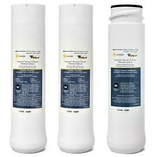 Whirlpool WHER25 & Kenmore UltraFilter450/650 R.O. Pre & Post Filters w/Membrane
