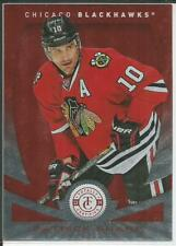 13-14 Certified Mirror Red Parallel Patrick Sharp 22/100 #72 Blackhawks