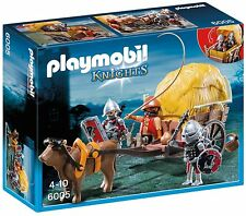 Playmobil faucon knight's avec camouflage wagon 6005