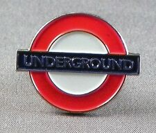 Metal Enamel Pin Badge Brooch London Underground Tube Train Transport