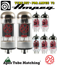 Ampeg V-3 electric guitar amplifier tube set JJ Electronics / Tesla vacuum valve