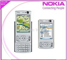 ORIGINAL Nokia N95 Silver N Black 100% UNLOCKED Smartphone GSM GPS 2017 Warranty