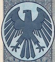 Deutsche Bank Berlin Düsseldorf ungelochte hist Aktie + Kup. 1952 J. Abs Rösler