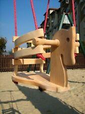 Balançoire Bébé bascule cheval pour enfants en bois bis 20 kg NEUF