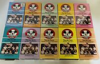 Walt Disney Mickey Mouse Club Vol 1-10 VHS tapes 8 Sealed 2 Used Proof Of Purch