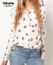 Chiffon Button Down Shirt Hand-wash Only Casual Tops & Blouses for Women