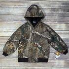 Carhartt CP8468 Realtree Xtra Camo Hooded Jacket Boy's Medium 10/12