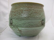 Roseville Pottery Arts & Crafts Egypto Jardiniere Organic Matte Green FH Rhead