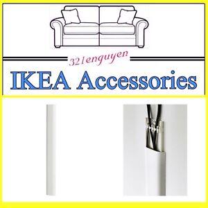 IKEA UPPLEVA Cable Cover Strip, White 802.248.93 NEW