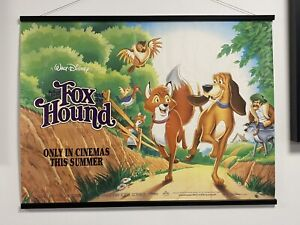 Disney - The Fox and the Hound, Quad Sheet Movie Poster 1995 re-release