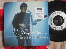 Roy Orbison Heartbreak Radio promo release date sticker Virgin VUS 68 UK 7inch