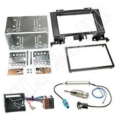 MERCEDES SPRINTER W906 ab2006 Doppel 2-DIN Radioblende ISO Adapter Komplett-Set