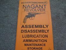Russian 7.62 Nagant Revolver  Pistol Manual 20 Pg.