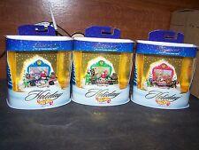 1998 Holiday Hot Wheels Set Of 3 Santas Stocker  Rudolph's Racer Kringle's Racer